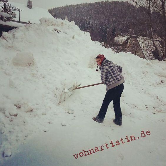 Winter-Abenteuer ;) #Schnee #Schwarzwald #Blog