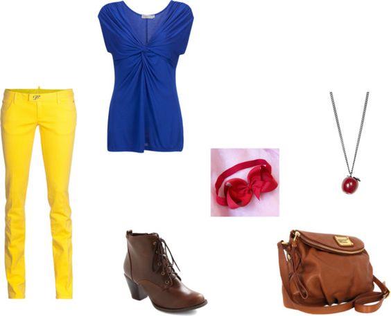 """Modern Disney- Snow White"" by jessica-m-erb on Polyvore"