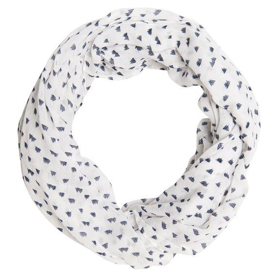 Schlauchschal mit Allover-Print für Frauen (unifarben mit Print, schlauchförmig gearbeitet, einfach gelegt) aus Voile, Waschlabel auf der Innenseite der Naht. Material: 100 % Polyester...