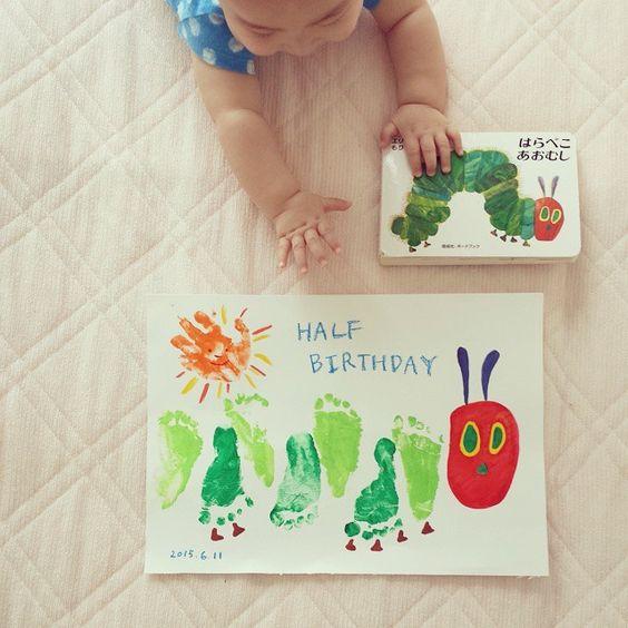 可愛すぎ♡手形&足形アートで我が子の成長記録はもう定番!?