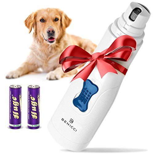 Premium Pet Nail Grinder By Benicci Ideal For Trimming Pet Nails Completely Painless Easy And Safe Durable Design Great For Cats And Dogs Small Medi Dog Nails Dog Grooming Supplies Pets
