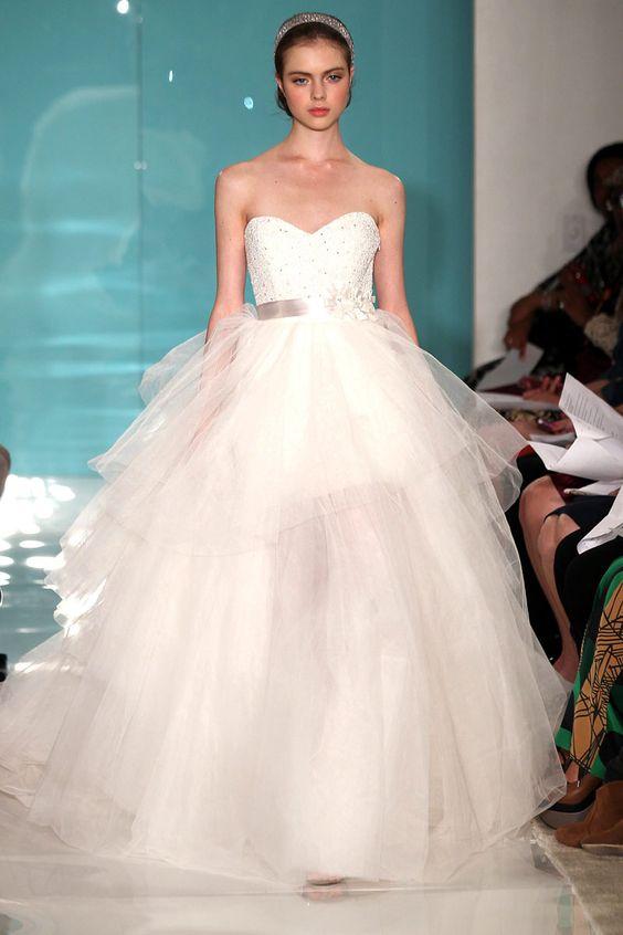 Reem Acra Bridal, primavera-verano 2013