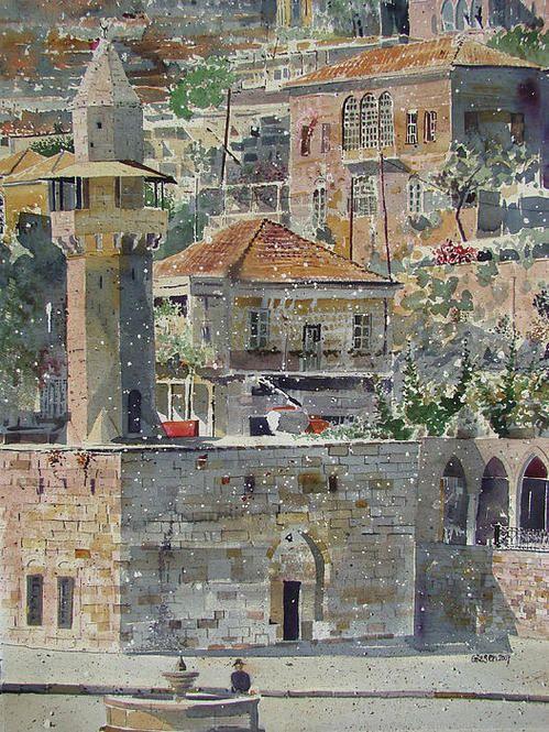 Deir El Kamar Lebanon, by Martin Giesen
