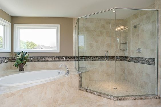 Modern master bathroom found on zillow digs what do you for Bathroom designs zillow