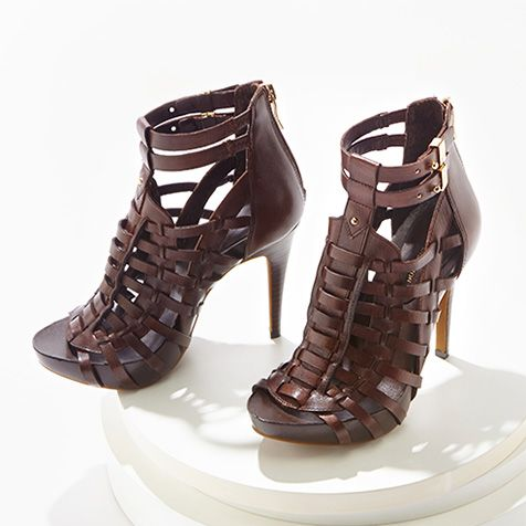 Well-heeled in a pair of fierce sandals