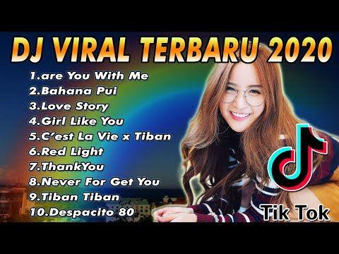 Dj Viral Tik Tok Terbaru Dj Are You With Me Full Bass Dj Tiktok Terbaru 2020 Youtube Dj Lirik Lagu Lagu