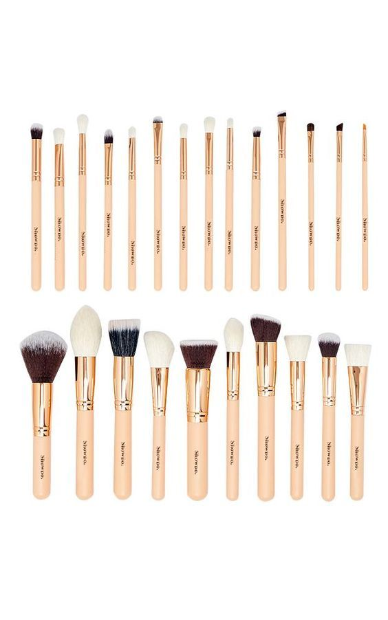 49 95 Out Of Stock This 25pc Set Includes 101 Face Definer Brushes Length About 17 5cm Tip Length About 4 7cm Han Makeup Brush Set Makeup Brushes Makeup
