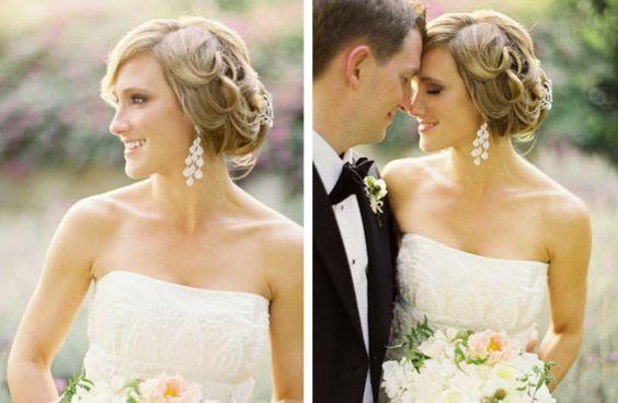 the wedding report stylish wedding ideas statement chandelier earrings 3