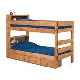 Found it at Wayfair - Twin Over Twin Standard Bunk Bed with Bookcase and Storage