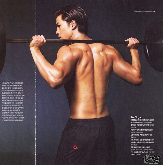 14 Ultimate Korean Male Shirtless List - List Flexible Slideshow Embed - Quietly