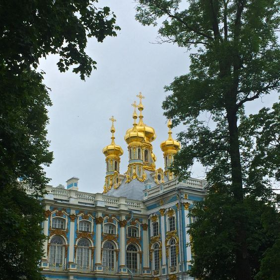 On my Russian Bucket List! The Summer Palace of Catherine the Great