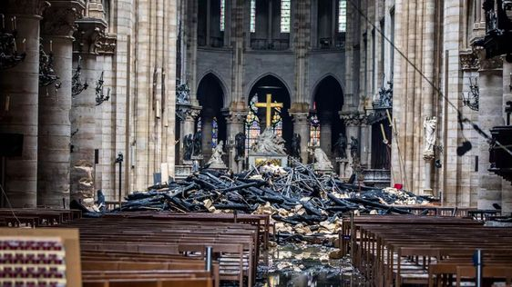 Un incendio devora la catedral de Notre Dame, símbolo de ...