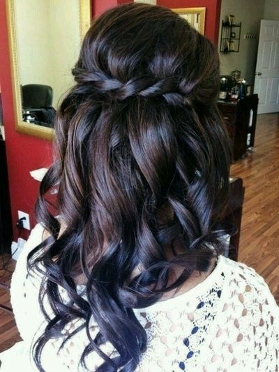 dip dyed dark brown hair w blue tips ������ hair styles