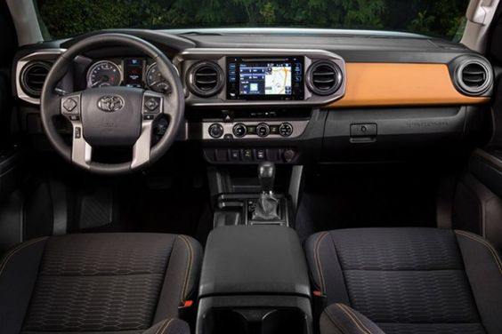 Interior New Tacoma 2016