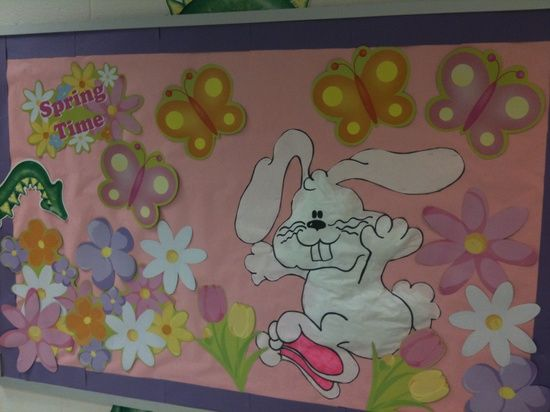 Spring Classroom Decorations To Make : Easter board bulletin spring decoration preschool