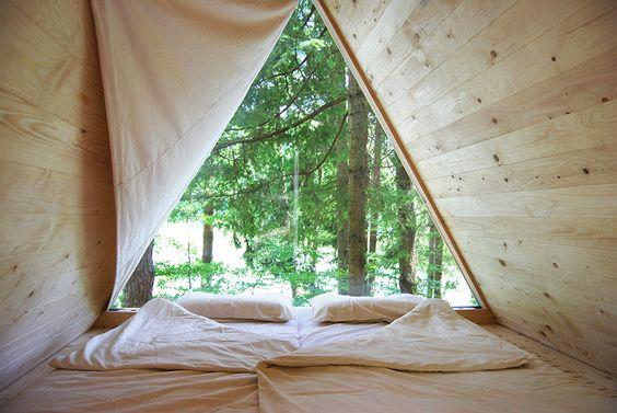 Lushna Studio, le apuesta al diseño de microcabañas inteligentes cambiando la forma de acampar.
