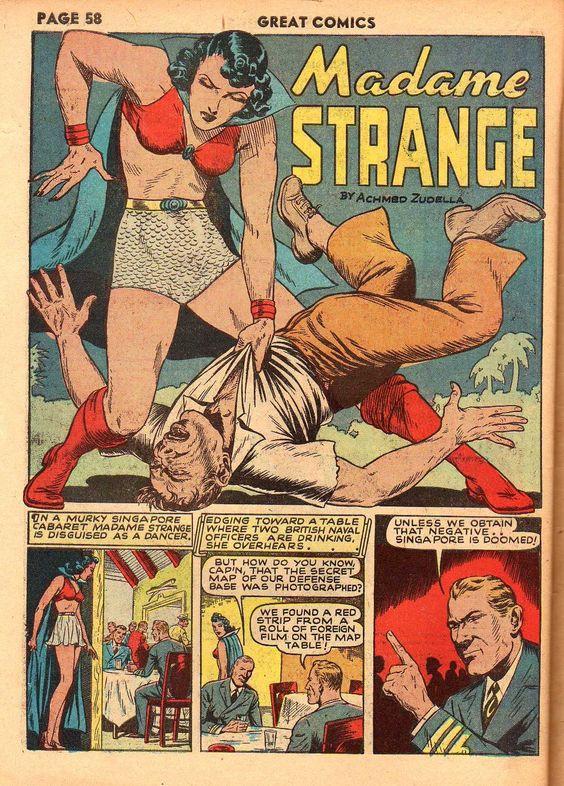 Madam Strange!