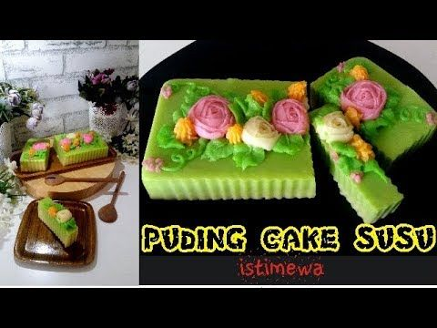 Youtube Jelly Cream Puding Cake Pudding Desserts
