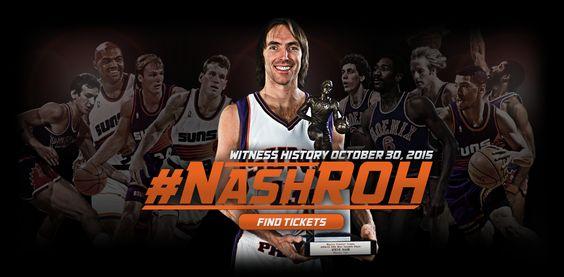 Steve Nash será inducido al Anillo de Honor de los Suns el 30 de octubre #SomosPHX #NashROH