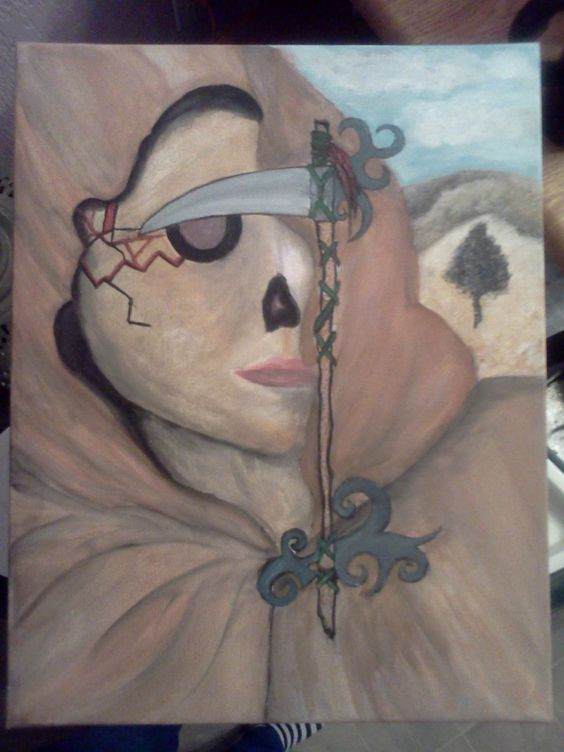 The Scythe by BookOfFaeye on Etsy, $40.00