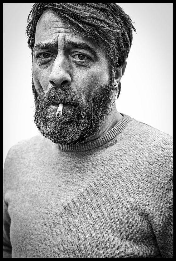 Wim Willaert (1967) - Belgian actor, director and musician. Photo © Rudy Lamboray