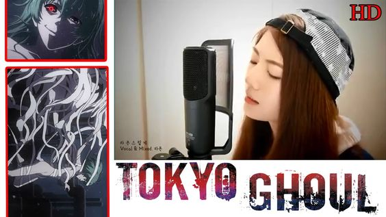 Tokyo Ghoul cover song - there was an exact same  one with no pictures though but I couldn't upload it :( Have fun!