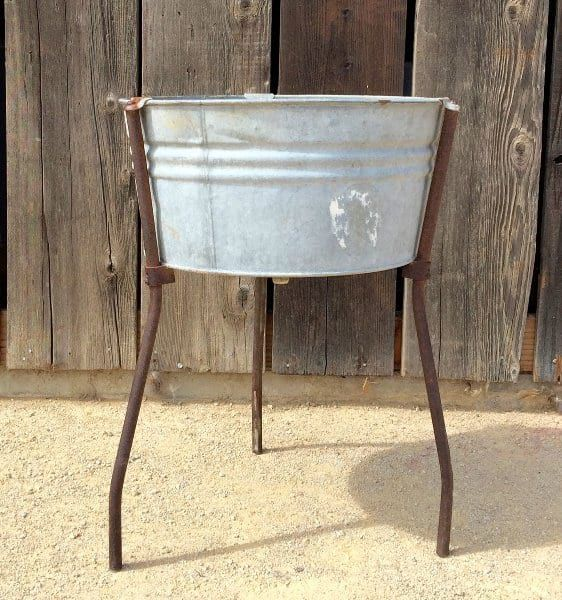 Our Inventory Wash Stand Galvanized Wash Tub Wash Tubs