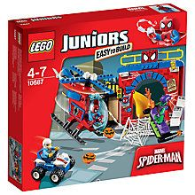 Buy LEGO Juniors Spider-Man Hideout Online at johnlewis.com