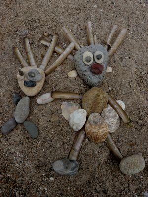 cute beach art
