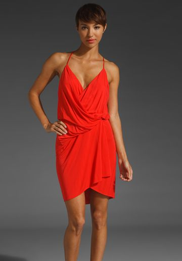 Katilin Drape Front Dress