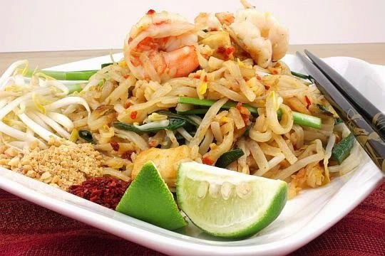 Resep Pad Thai Noodle Resep Masakan Masakan Thailand Resep