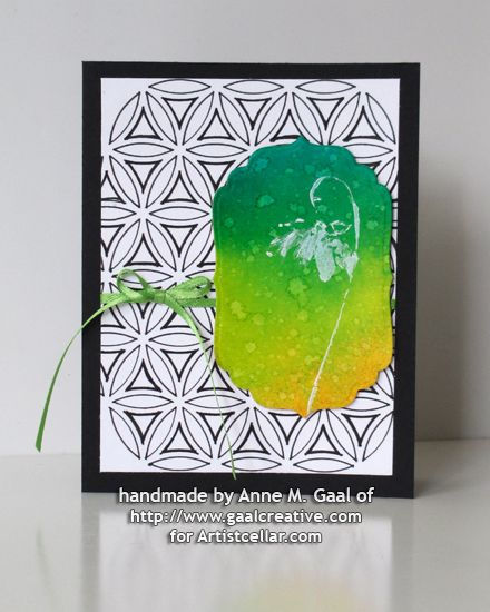 Flower of Life Card by Anne Gaal of Gaal Creative at www.gaalcreative.com - Feel free to re-pin! ♥
