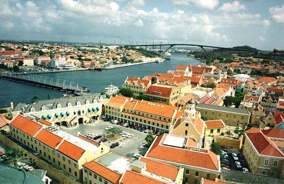 Zone historique de Willemstad, centre ville et port, Curaçao
