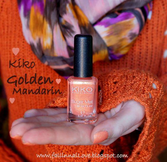Sand Post: Kiko Sugar Mat Golden Mandarin.