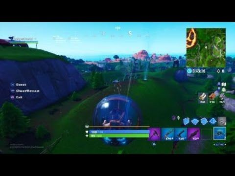 Fortnite Update Hamster Ball With A Grappler Baller Grappler Fortnite Baller