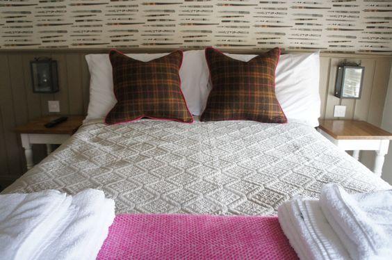 The Higher Buck,Waddington, Lancashire. Bedroom. Pub with bedrooms/ Pub bedroom