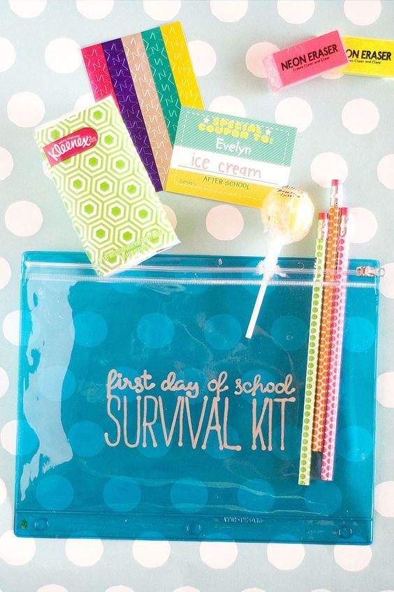 DIY: Back to School Survival Kit for the Kids
