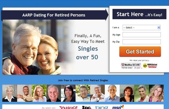 AARPDatingsite.org is aonline dating site for seniors over 50, that's all about going on awesome dates.  It's the new way to date for singles - more fun, more active, more positive, more authentic.