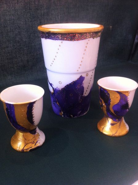 Porzellanserie royal von Herzlich Willkommen auf DaWanda.com