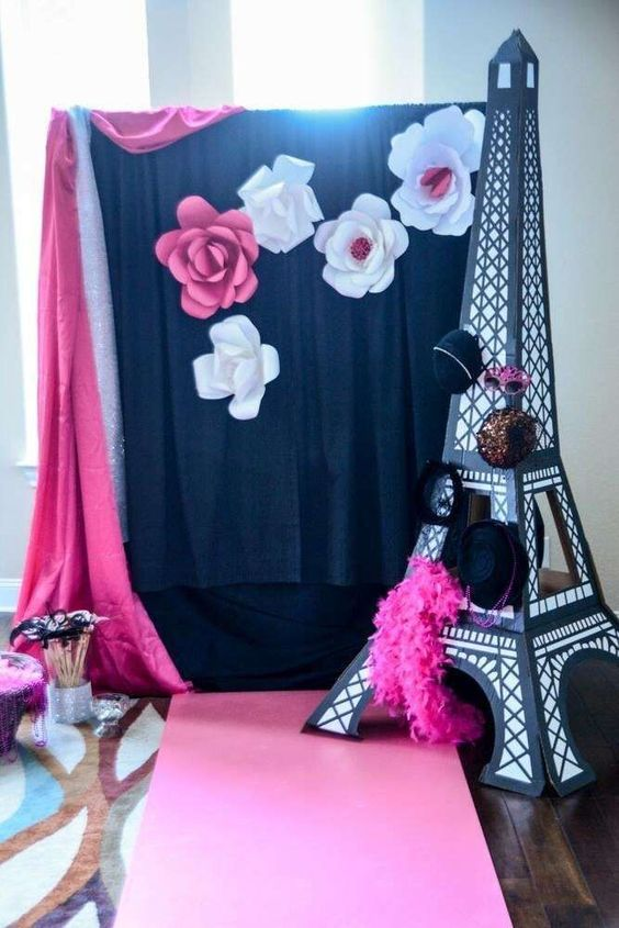French / Parisian Birthday Party Ideas   Photo 10 of 16