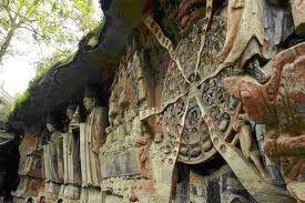 Dazu Rock carvings in Chongqing