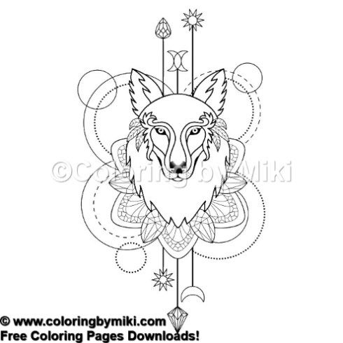 Lucky Charms Coloring Pages In 2020 Wolf Colors Coloring Pages Lucky Charm