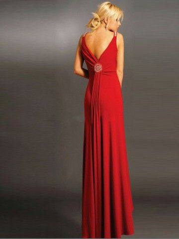 Love that red!  Every woman should have at least one red dress and several pair of red shoes.