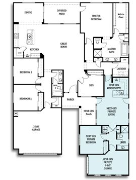 Nextgen The Home Within A Home By Lennar I Love The Idea
