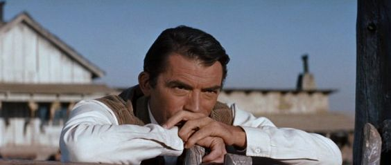 "Gregory Peck in ""The Big Country,"