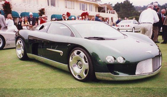 Bentley Cars Concept Bentley Hunaudieres New School