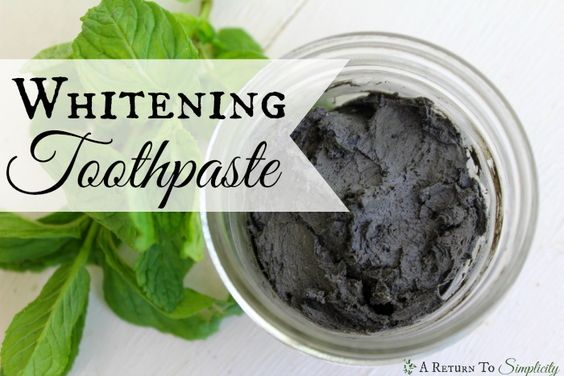 Looking for an all natural whitening toothpaste you can make yourself? Here is my whitening toothpaste recipe with an extra boost!! | areturntosimplicity.com