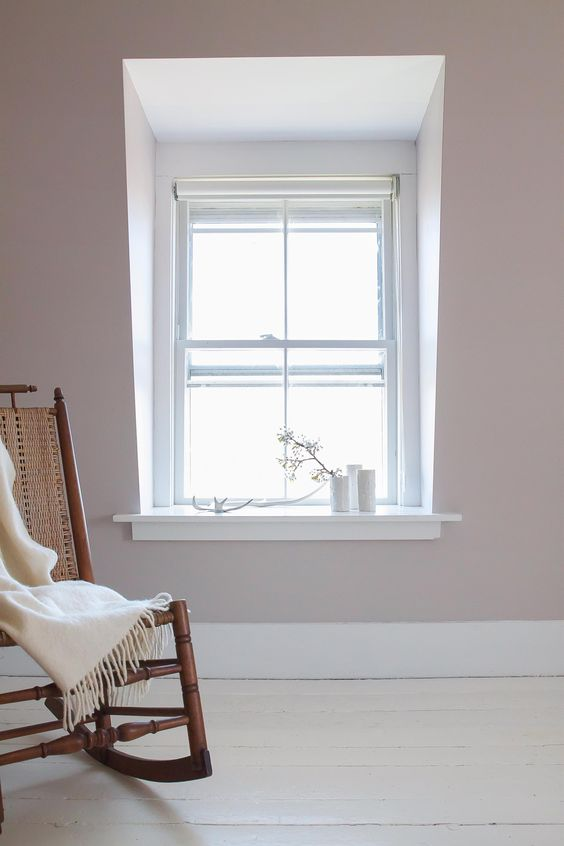 Farrow & Ball Paint: Peignoir Remodelista.
