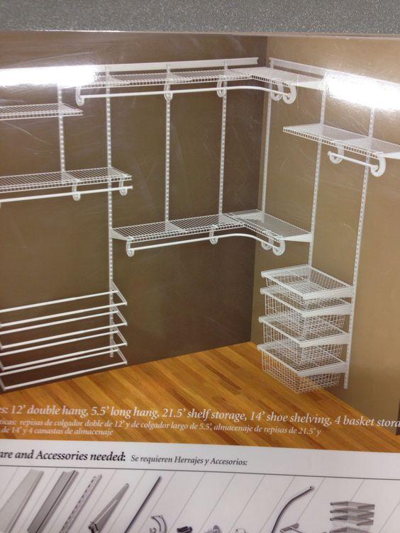 Lovely Closetmaid White Wire Closet | Design Ideas | Pinterest | Kids Shoe Rack,  Kid Closet And Master Closet