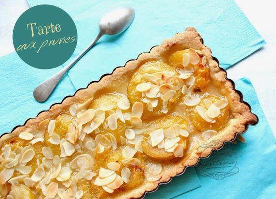 tarte aux prunes d'été